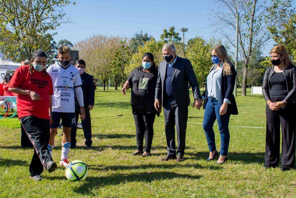 Gerardo Morales dio inicio a la Liga Provincial de Deporte Adaptado