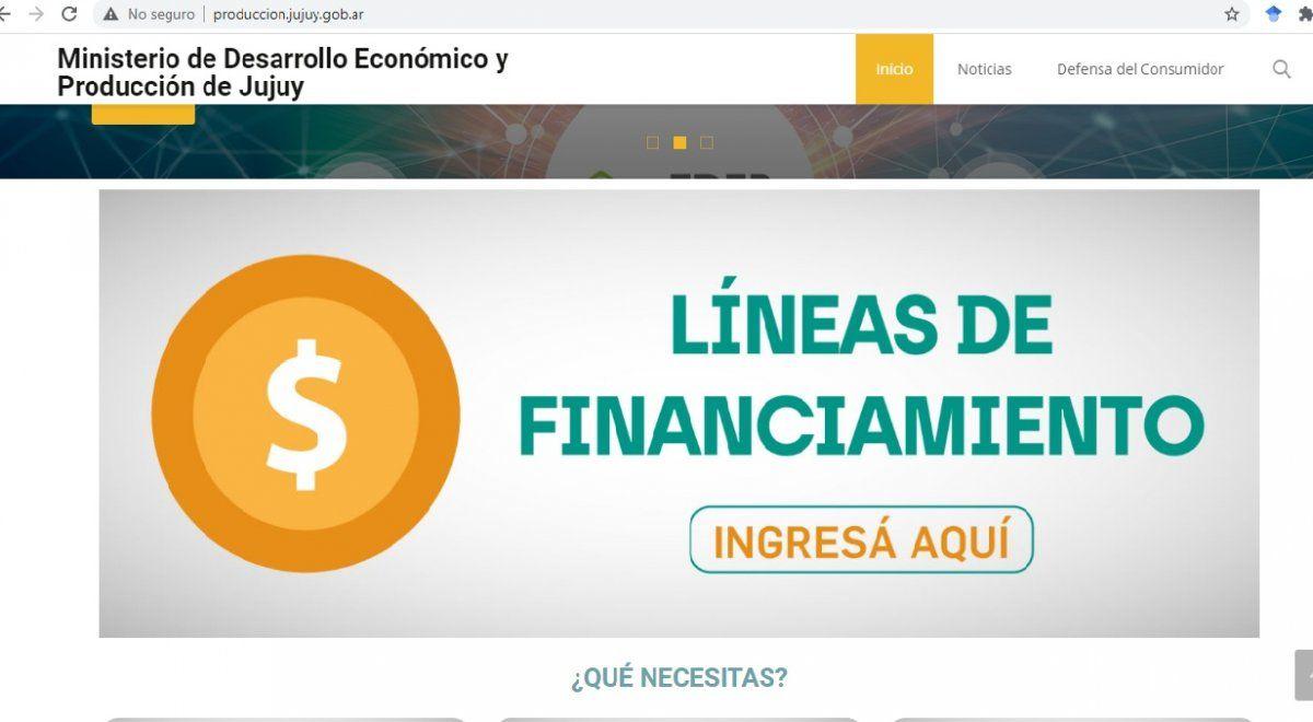 17 líneas de financiamiento para el desarrollo de Jujuy