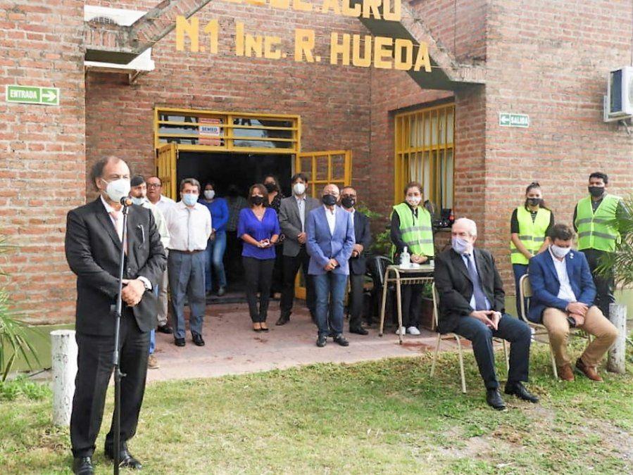 Álvarez García acompañó a la comunidad educativa de la Agrotécnica N° 7