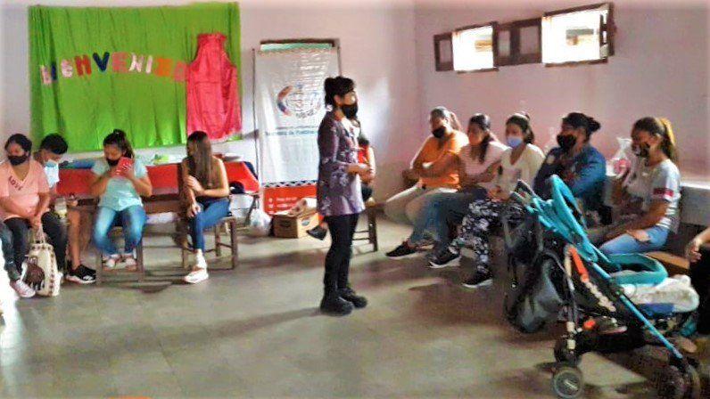 Santa Bárbara: Círculo de mujeres con las comunidades aborígenes
