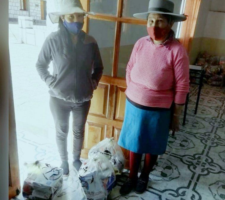 Familias de Catua recibieron las Unidades Alimentarias