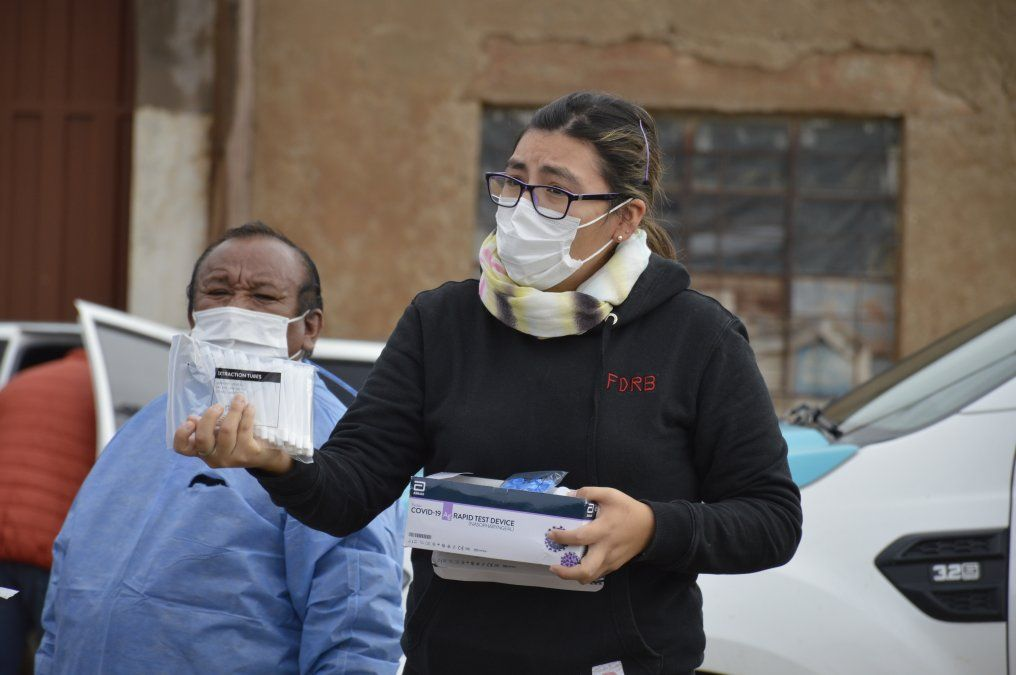Continúa el operativo sanitario en Santa Catalina