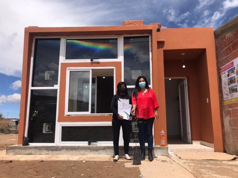 La vivienda entregada hoy en La Quiaca sirve de prototipo para la puna en la investigación de ahorro en gas