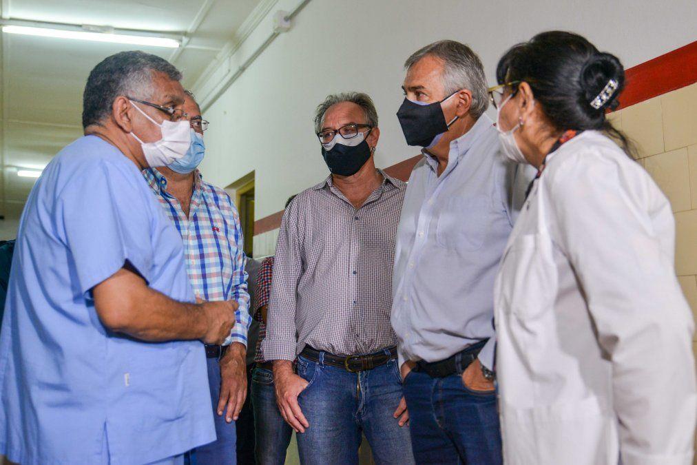 Trabajo de diversas áreas de Gobierno para recuperar al nosocomio de Libertador