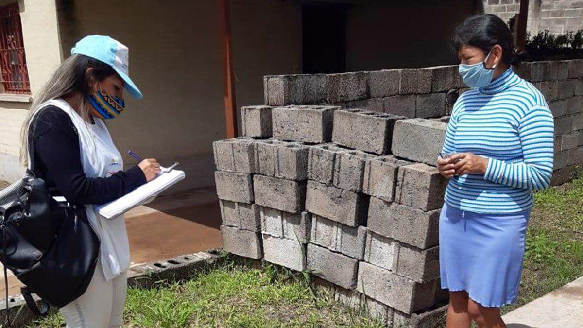 Equipos de Desarrollo Humano realizaron el abordaje social en el operativo sanitario en Alto Comedero