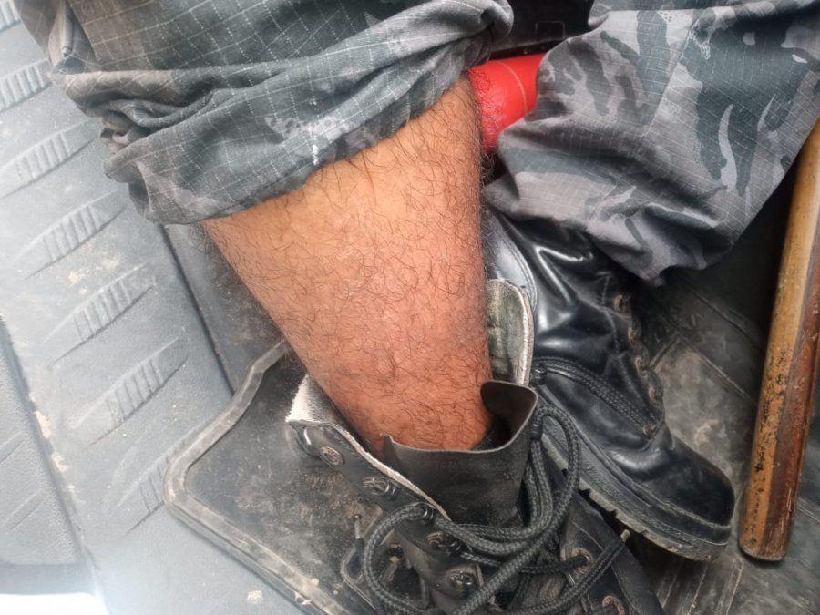 Más policías heridos y maquinaria dañada en Campo Verde