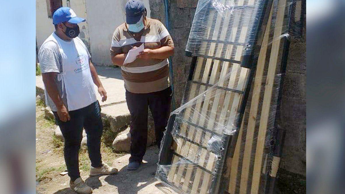 El Ministerio de Desarrollo Humano brindó ayuda social a familias de Capital y Las Pampitas