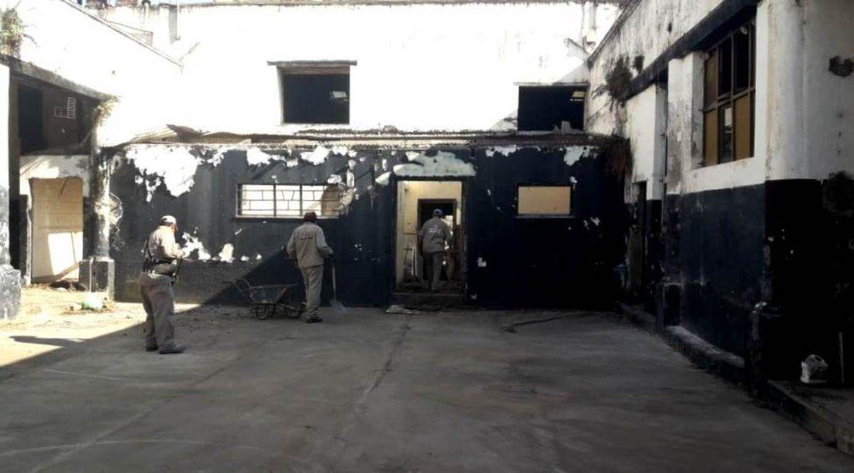 Las actuales obras en el Cabildo son ejecutadas por trabajadores de Arquitectura del MISPTyV.