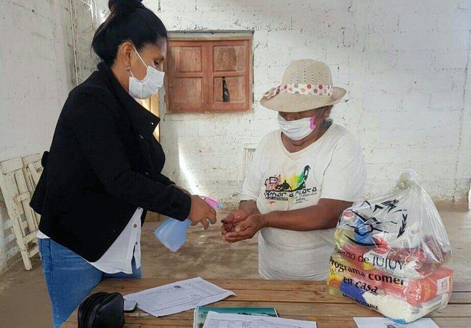 Unidades Alimentarias para familias de Rodeito
