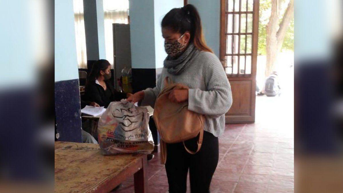 Se realizó una nueva entrega de Unidades Alimentarias en La Quiaca