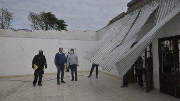 Rápida respuesta del gobierno a las familias y productores afectados por el temporal