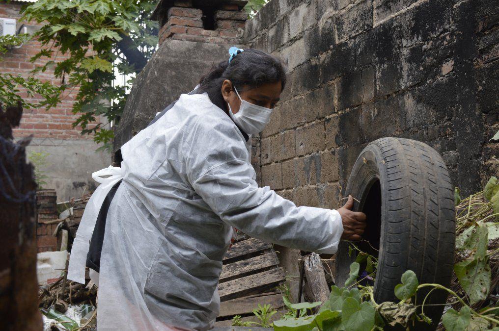Operativo interinstitucional por el dengue en Fraile Pintado