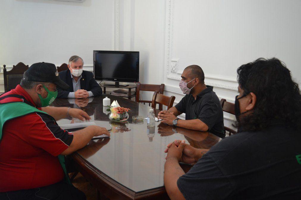 El Ministro Perassi recibió al sindicato ATE