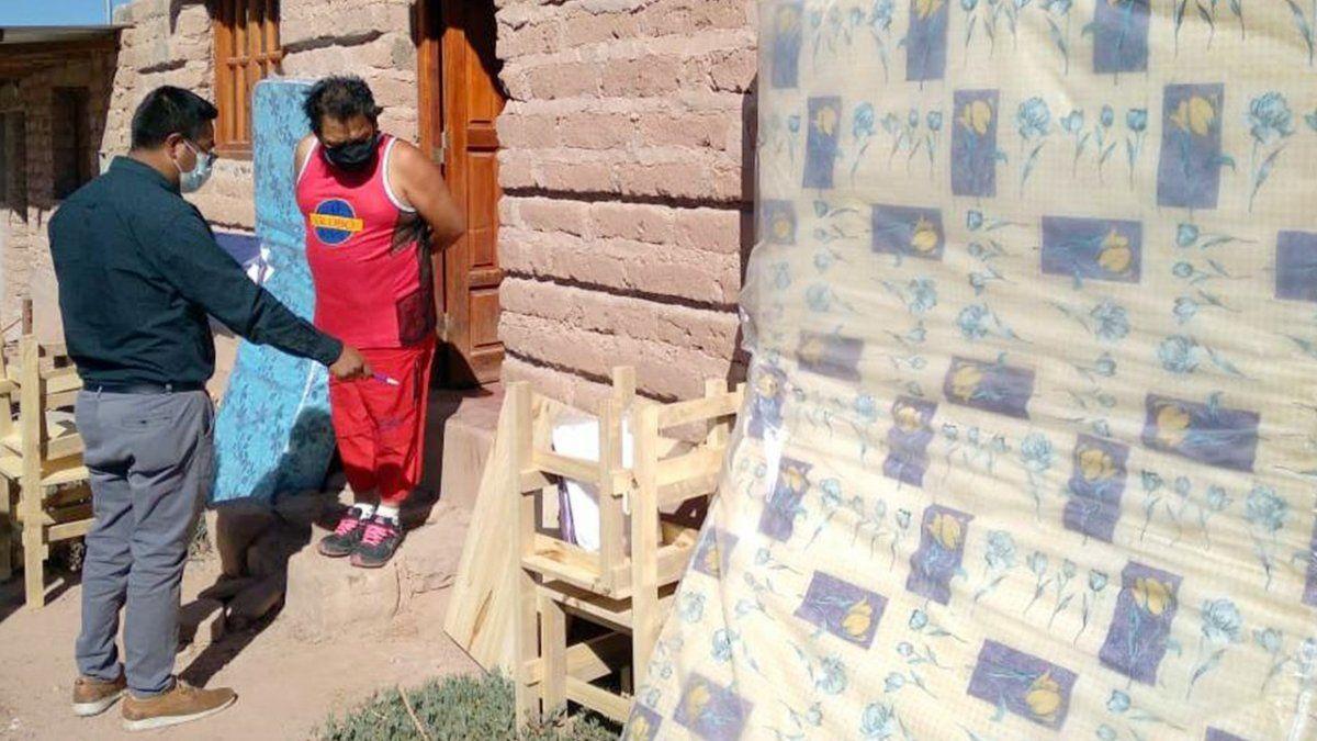 Familias de Maimará y Capital fueron asistidas por Desarrollo Humano