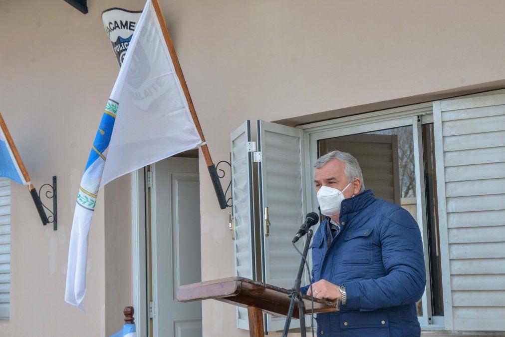Morales inauguró un destacamento policial en Abralaite