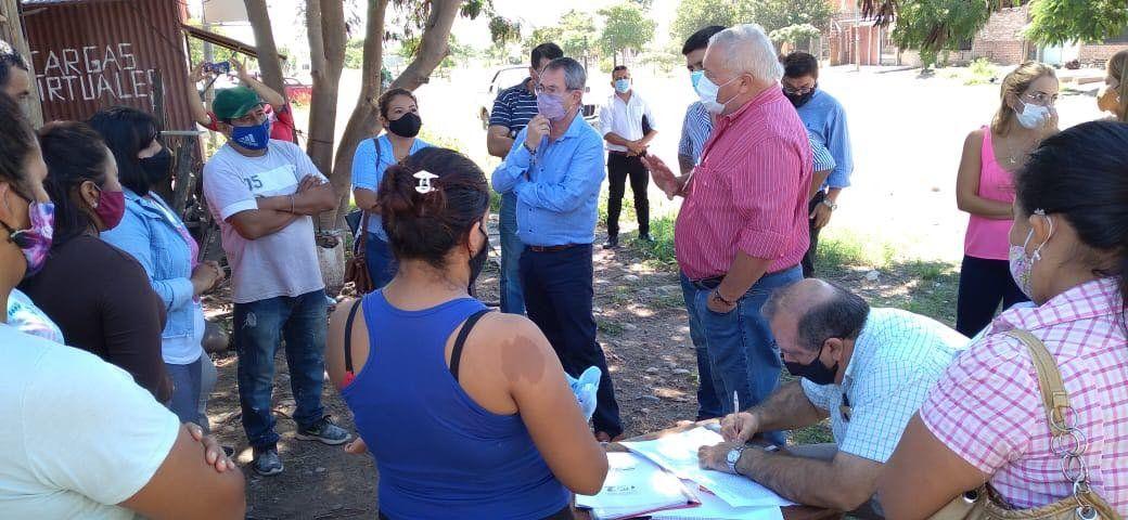 Once familias de San Pedro tendrán un espacio seguro para asentar su vivienda.