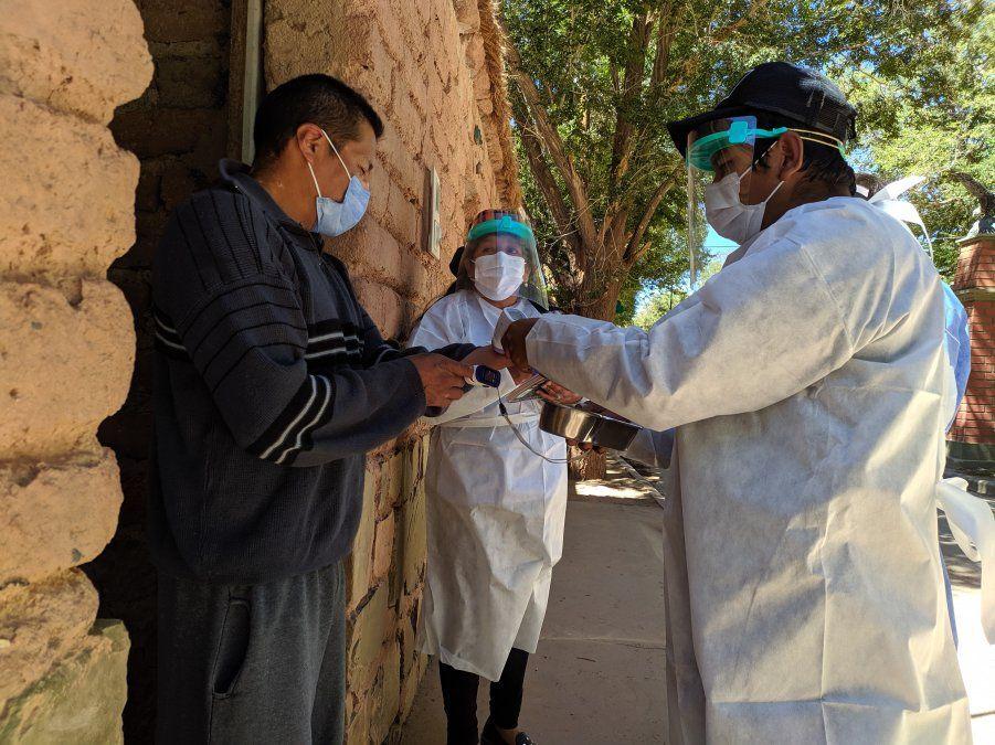 Rastrillaje en Susques se cumplió con 50 trabajadores de la salud