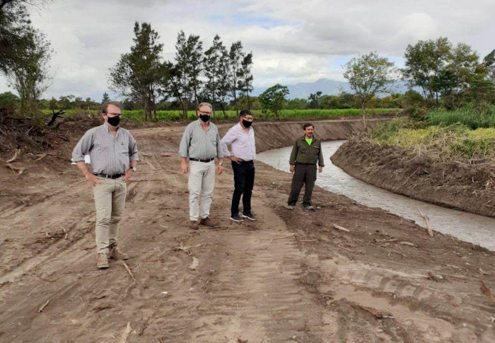 Los avances en las obras en Manantiales fueron corroboradas por autoridades nacionales y provinciales.