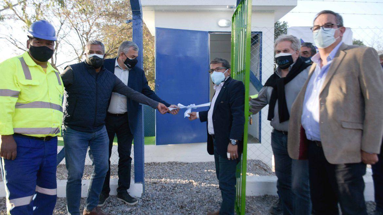 Inauguraron otra etapa del Sistema Central de Agua Potable
