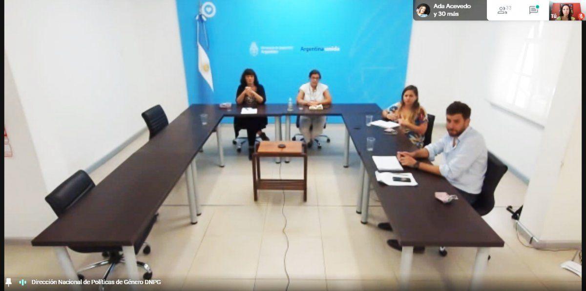 Jujuy presente en la Séptima reunión de la Mesa Federal de Seguridad, Género y Diversidad