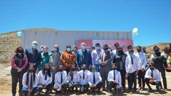 Morales dio inicio a las obras de la Escuela Secundaria Rural Nº 1 de Quebraleña