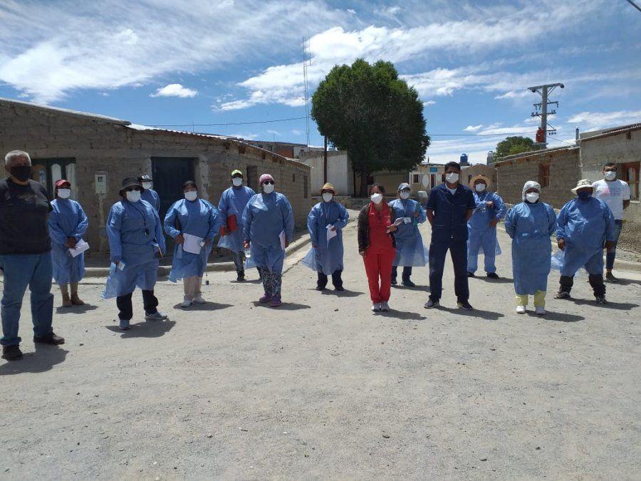 Salud reforzó en Rinconada el trabajo de rastrillaje