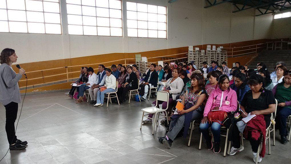 Jujuy Asiste y Reactiva: capacitan a personal de comedores escolares de Quebrada