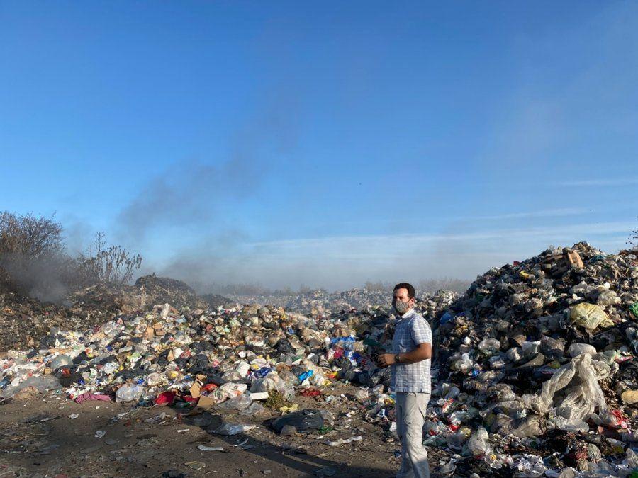 Actuaciones del Ministerio de Ambiente y GIRSU S.E sobre el basural de Perico