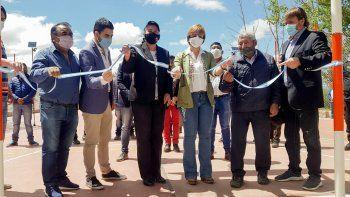 Provincia y municipio inauguraron en Coctaca obras fruto del trabajo conjunto