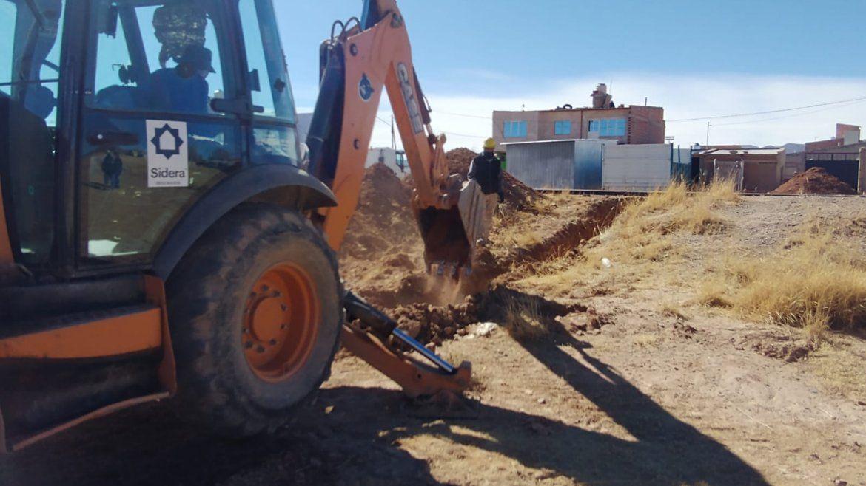 4.500 vecinos de Abra Pampa gozarán del servicio de cloacas concluido por Agua Potable de Jujuy