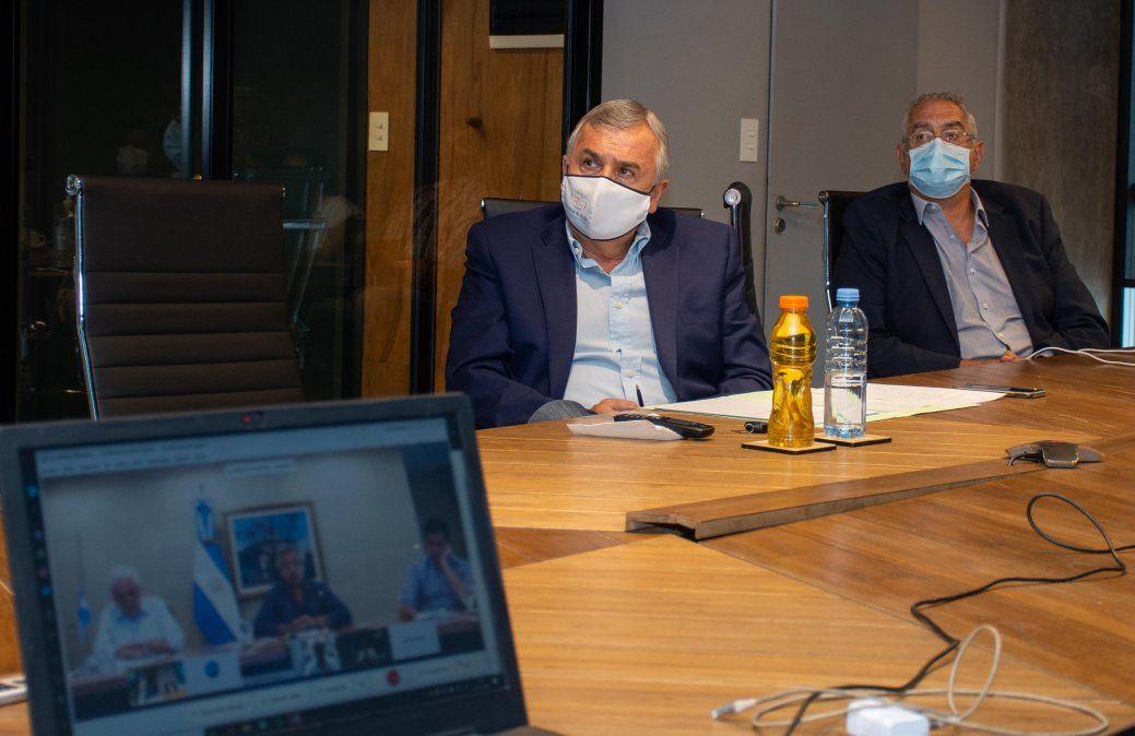 Gerardo Morales coordinó con Nación y las Provincias el operativo de vacunación