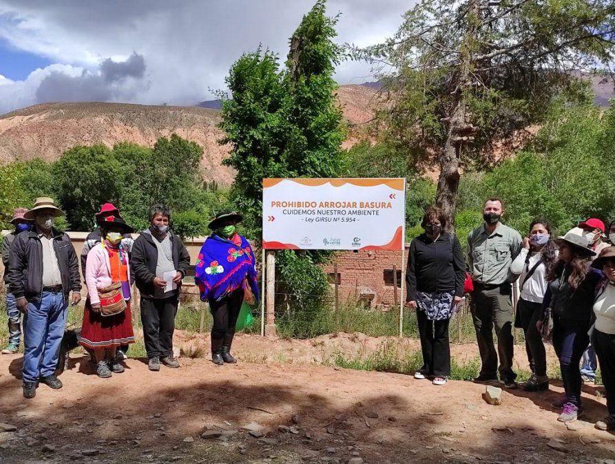 Jornada de gestión ambiental con las Comunidades de Varas y Cianzo