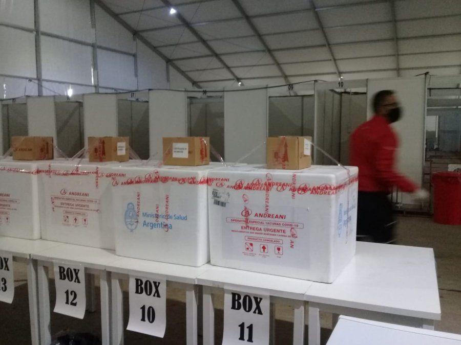 Llegó el segundo lote de Sputnik-V para la vacunación en Jujuy