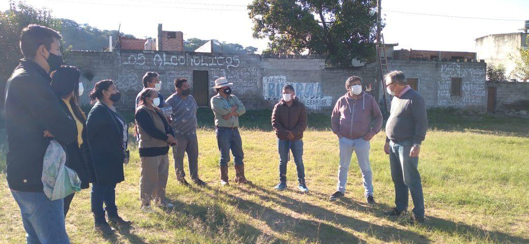 Las obras en Campo Verde se ejecutan con el acompañamiento de familias vecinas del sector.
