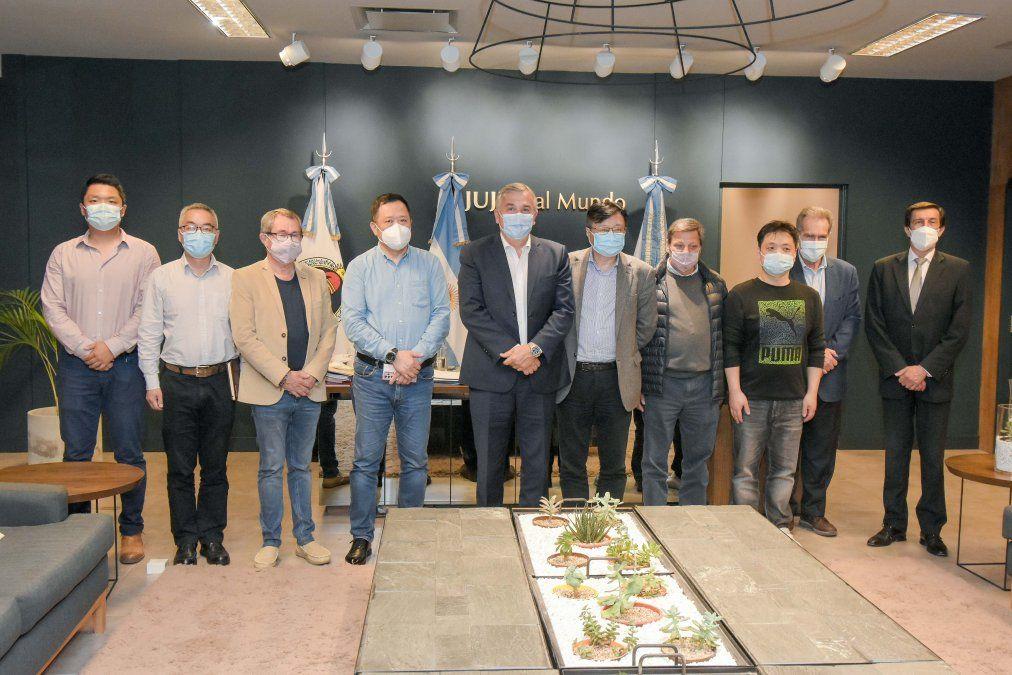 Shanghai Electric en Jujuy: recepción de Cauchari y compromiso con Morales para ampliación