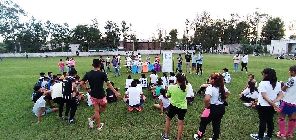 Fortaleciendo acciones para la Juventud de Pampa Blanca