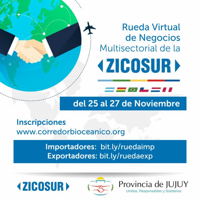 Rueda Virtual de Negocios Multisectorial de la ZICOSUR