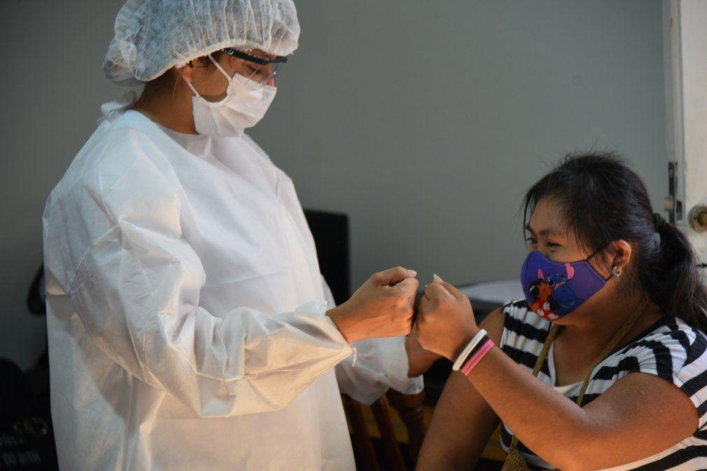 Cerca de 3000 personas con discapacidad recibieron la vacuna