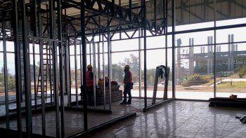 Las tres obras en el predio de la Terminal Gral. Manuel Eduardo Arias se realizan tanto en el actual sector de oficinas de Transporte y 911 como al interior del edificio central.