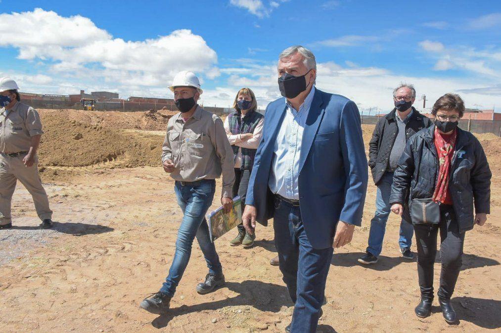 Se inició la construcción de un edificio educativo en La Quiaca
