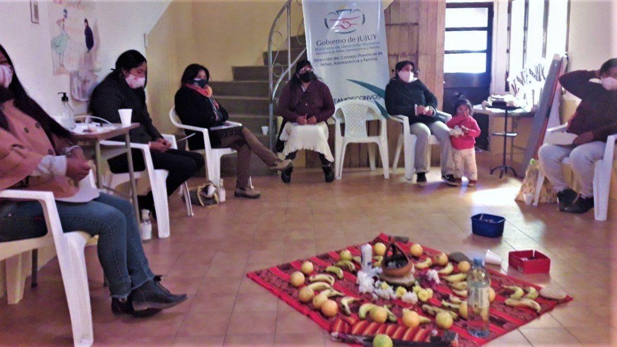 Círculo de Mujeres con comunidades del Dpto. Humahuaca