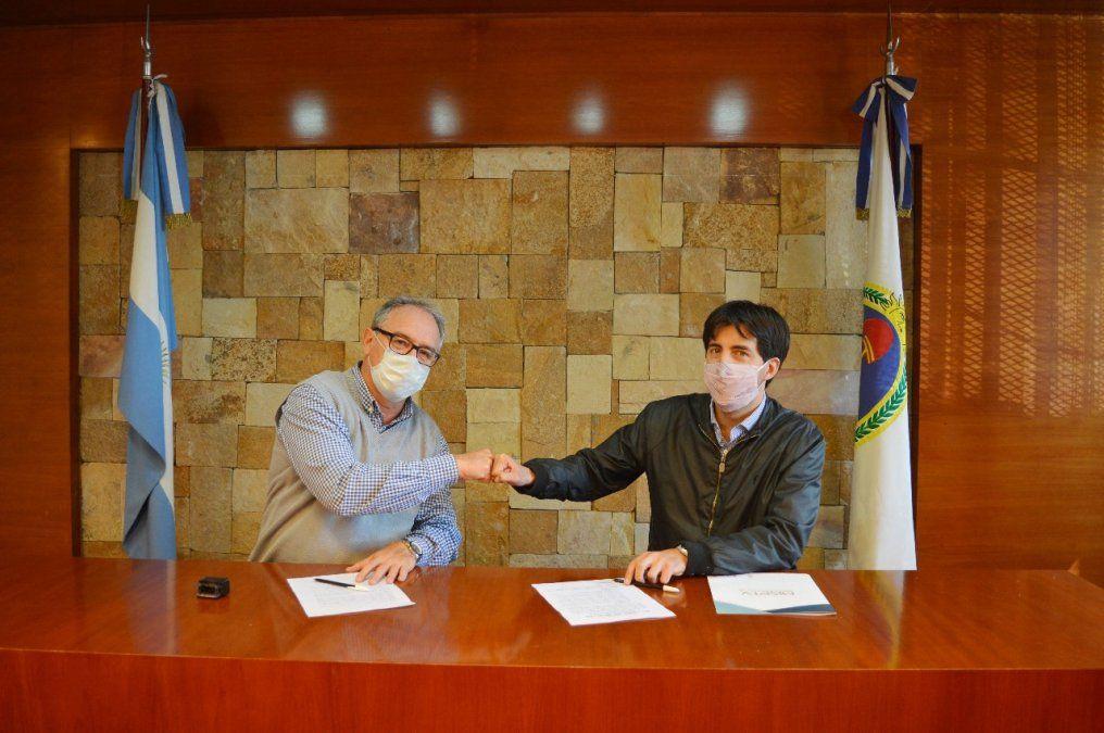 Los convenios con municipios colaboran con financiamiento para obras comunitarias.