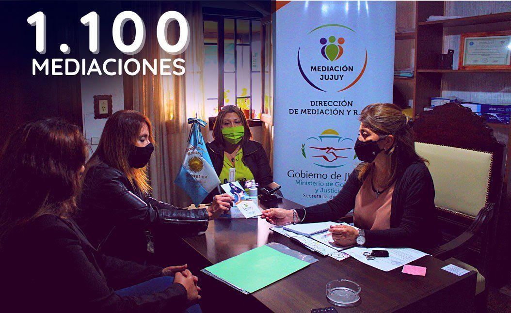 Dirección Mediación Comunitaria atendió más de 1.100 casos