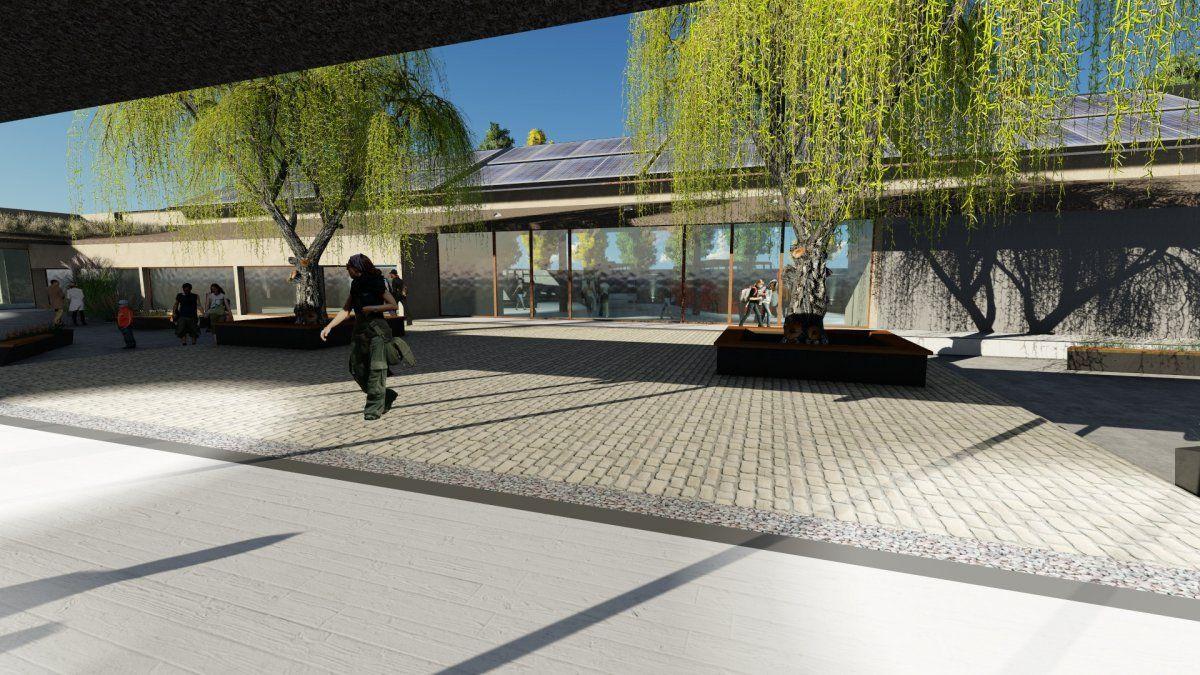 Pronto iniciarán las obras de mejoras urbanas y complementarias para la nueva Terminal de Ómnibus de Humahuaca.