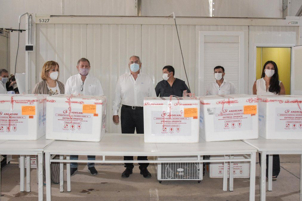 LLegó a Jujuy el primer lote de 2.250 vacunas SPUTNIK-V