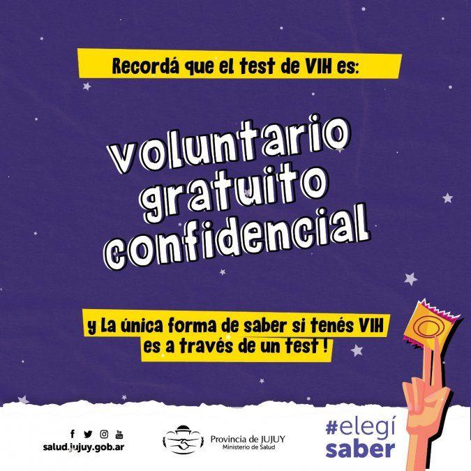 Edición 2021 de la Noche de los testeos en Jujuy