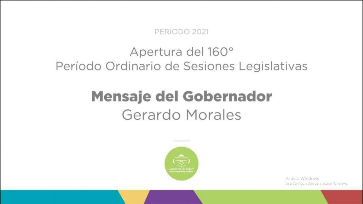 Apertura del 160° Periodo de Sesiones Legislativas