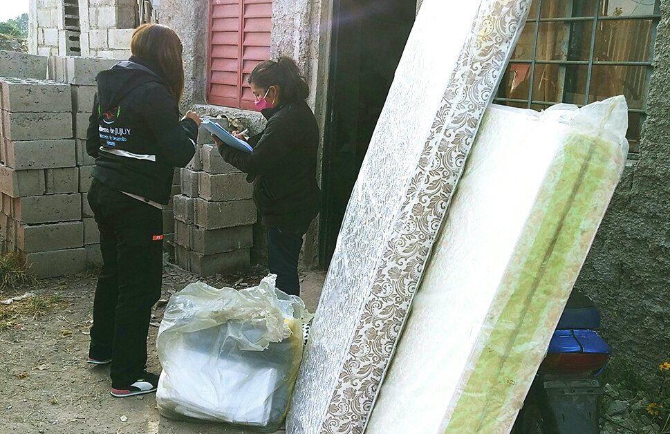 Permanente ayuda social a familias vulnerables de Capital