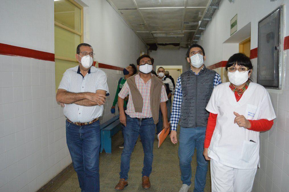 El Hospital Oscar Orías tendrá nueva cubierta