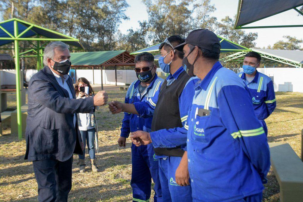 Jujuy: Nuevas obras de Agua Potable que beneficia a 520 vecinos del barrio Ian Luca de San Antonio